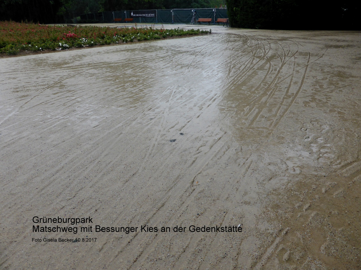 starker regen im august matschwege im gr neburgpark grueneburgparkinitiative. Black Bedroom Furniture Sets. Home Design Ideas